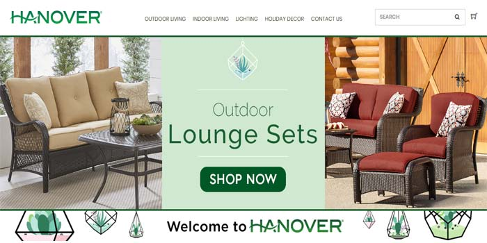 Hanover Furniture Coupon Cods