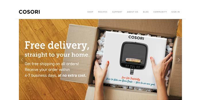 Cosori Free Delivery