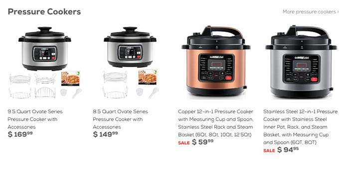 GoWise USA Pressure Cooker