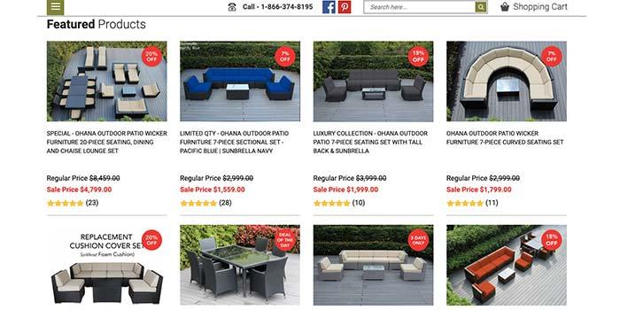 Ohana Furniture Coupon Code