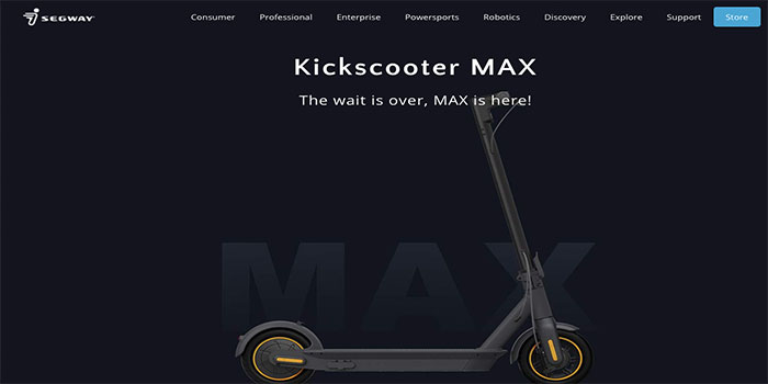 Segway Kickscooter Coupon Code